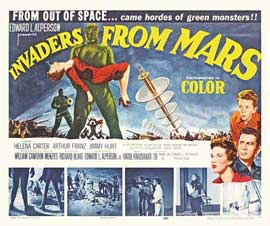 Invaders from Mars - 22 x 28 Movie Poster - Half Sheet Style A