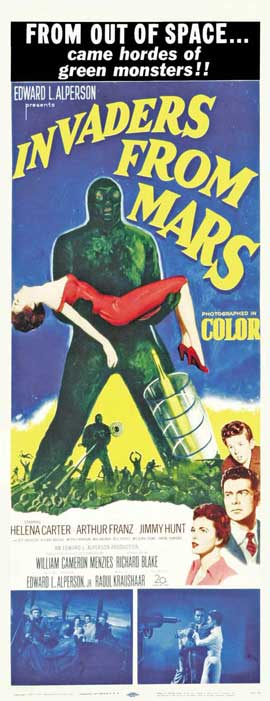 Invaders from Mars - 14 x 36 Movie Poster - Insert Style A