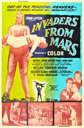 Invaders from Mars - 27 x 40 Movie Poster - Style B