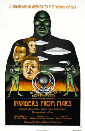 Invaders from Mars - 11 x 17 Movie Poster - Style C
