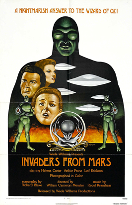 Invaders from Mars - 27 x 40 Movie Poster - Style C