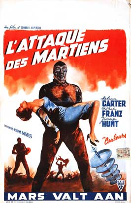 Invaders from Mars - 27 x 40 Movie Poster - Belgian Style A