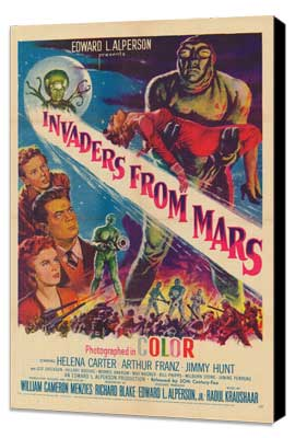 Invaders from Mars - 11 x 17 Movie Poster - Style A - Museum Wrapped Canvas