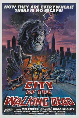 Invasion by the Atomic Zombies - 11 x 17 Movie Poster - Style C