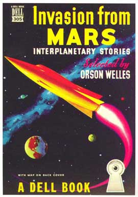 Invasion From Mars - 11 x 17 Retro Book Cover Poster