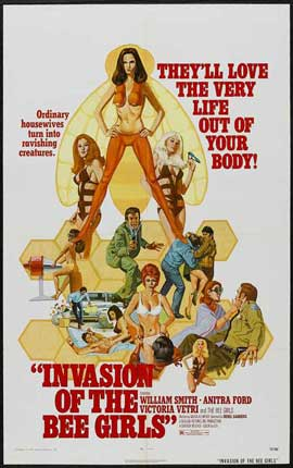 Invasion of the Bee Girls - 11 x 17 Movie Poster - Style A