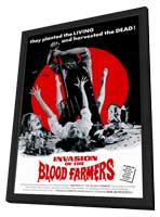 Invasion of the Blood Farmers - 11 x 17 Movie Poster - Style A - in Deluxe Wood Frame