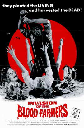 Invasion of the Blood Farmers - 11 x 17 Movie Poster - Style A