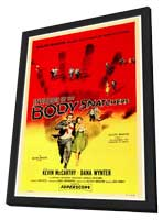 Invasion of the Body Snatchers - 27 x 40 Movie Poster - Style A - in Deluxe Wood Frame