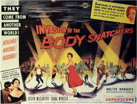 Invasion of the Body Snatchers - 11 x 17 Movie Poster - Style B