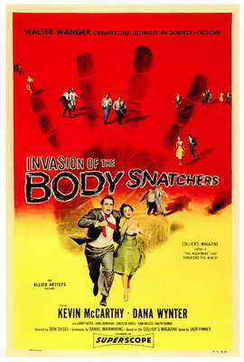 Invasion of the Body Snatchers - 27 x 40 Movie Poster - Style A