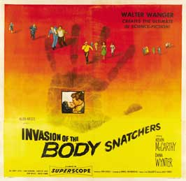 Invasion of the Body Snatchers - 30 x 30 Movie Poster - Style A