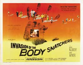 Invasion of the Body Snatchers - 30 x 40 Movie Poster UK - Style B