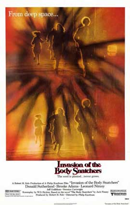 Invasion of the Body Snatchers - 11 x 17 Movie Poster - Style C