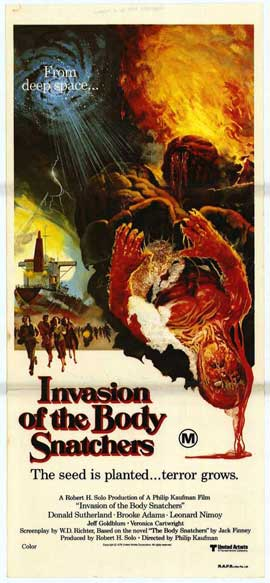 Invasion of the Body Snatchers - 11 x 17 Movie Poster - Style D