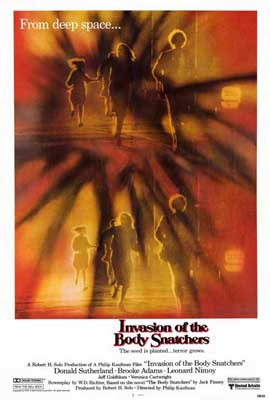 Invasion of the Body Snatchers - 27 x 40 Movie Poster - Style B