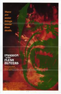 Invasion of the Flesh Hunters - 27 x 40 Movie Poster - Style B