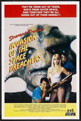 Invasion of the Space Preachers - 11 x 17 Movie Poster - Style A