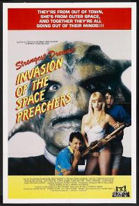 Invasion of the Space Preachers - 27 x 40 Movie Poster - Style A