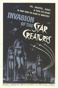 Invasion of the Star Creatures - 43 x 62 Movie Poster - Bus Shelter Style A