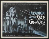 Invasion of the Star Creatures - 30 x 40 Movie Poster UK - Style A