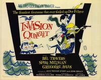 Invasion Quartet - 11 x 14 Movie Poster - Style A