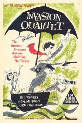 Invasion Quartet - 11 x 17 Movie Poster - Style A