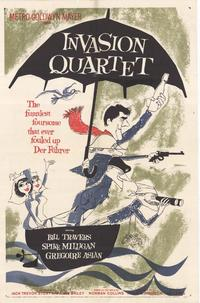 Invasion Quartet - 27 x 40 Movie Poster - Style A