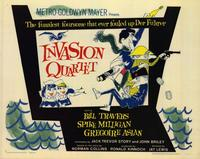 Invasion Quartet - 22 x 28 Movie Poster - Half Sheet Style A
