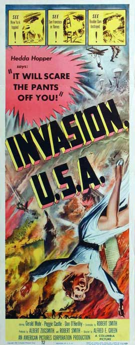 Invasion USA - 14 x 36 Movie Poster - Insert Style A