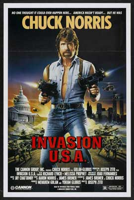 Invasion USA - 27 x 40 Movie Poster - Style B