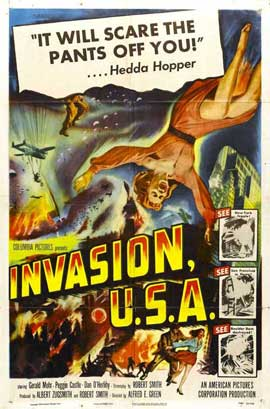 Invasion USA - 11 x 17 Movie Poster - Style C