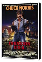 Invasion U.S.A. - 27 x 40 Movie Poster - Style A - Museum Wrapped Canvas