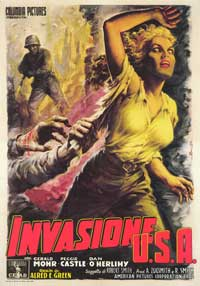 Invasion U.S.A. - 43 x 62 Movie Poster - Italian Style A