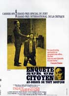 Investigation of a Citizen... Above Suspicion - 11 x 17 Movie Poster - French Style A