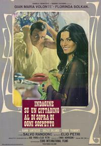 Investigation of a Citizen Above Suspicion - 11 x 17 Movie Poster - Italian Style A