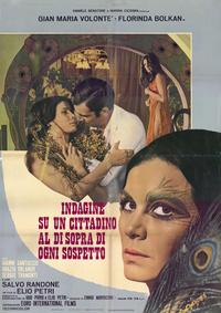 Investigation of a Citizen Above Suspicion - 11 x 17 Movie Poster - Italian Style C