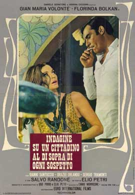 Investigation of a Citizen Above Suspicion - 11 x 17 Movie Poster - Italian Style D