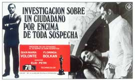 Investigation of a Citizen Above Suspicion - 11 x 17 Movie Poster - Spanish Style A