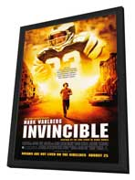 Invincible - 27 x 40 Movie Poster - Style A - in Deluxe Wood Frame