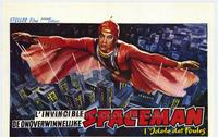 Invincible Spaceman - 27 x 40 Movie Poster - Belgian Style A