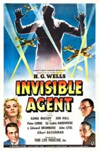 Invisible Agent - 11 x 17 Movie Poster - UK Style A