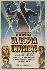 Invisible Agent - 27 x 40 Movie Poster - Spanish Style A