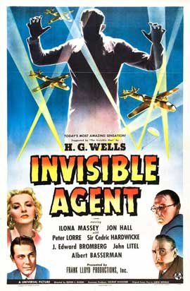 Invisible Agent - 27 x 40 Movie Poster - UK Style A