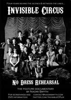 Invisible Circus: No Dress Rehearsal - 27 x 40 Movie Poster - UK Style A