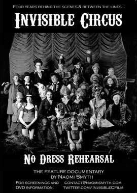 Invisible Circus: No Dress Rehearsal - 43 x 62 Movie Poster - UK Style A