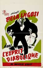 Invisible Ghost - 11 x 17 Movie Poster - French Style A