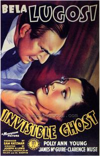 Invisible Ghost - 43 x 62 Movie Poster - Bus Shelter Style A