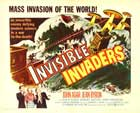 Invisible Invaders - 22 x 28 Movie Poster - Half Sheet Style A