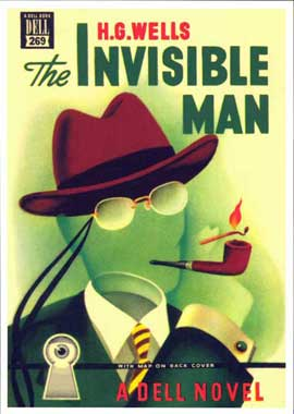 Invisible Man - 11 x 17 Retro Book Cover Poster